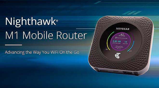 El primer router LTE de Netgear