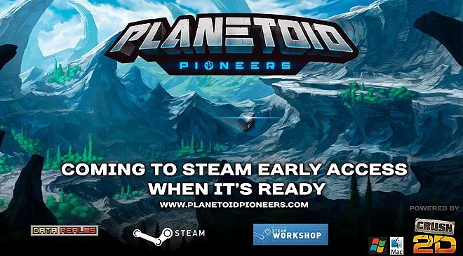 Planetoid Pioneers ya disponible en Steam en WZ Gamers Lab - La revista de videojuegos, free to play y hardware PC digital online