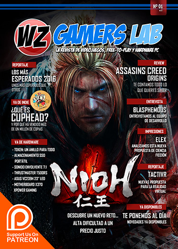 WZ Gamers Lab - La revista de videojuegos, free to play y hardware PC digital online Número 1 ya disponible en Patreon