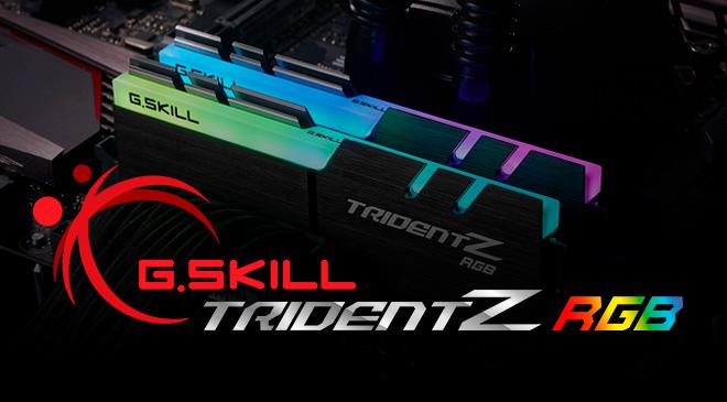 G.SKILL Trident Z RGB DDR4 4.700 MHz en WZ Gamers Lab - La revista de videojuegos, free to play y hardware PC digital online