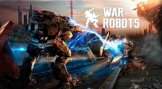 Lucha en VR con War Robots