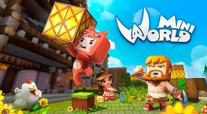 Construye tu mundo en Mini World: Block Art en WZ Gamers Lab - La revista de videojuegos, free to play y hardware PC digital online