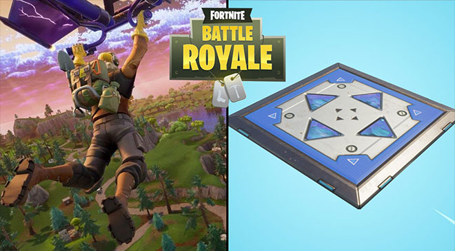 La cama elástica de Fortnite en WZ Gamers Lab - La revista digital online de videojuegos free to play y Hardware PC