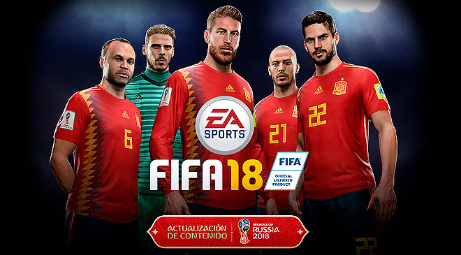EA lanza el DLC Mundial 2018 para FIFA 18 gratis y te lo contamos en WZ Gamers Lab - La revista digital online de videojuegos free to play y Hardware PC