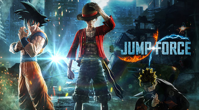 Jump Force ha sido anunciado en WZ Gamers Lab - La revista digital online de videojuegos free to play y Hardware PC