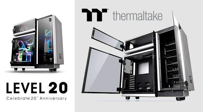 Thermaltek celebra su 20 aniversario con la LVL 20 en WZ Gamers Lab - La revista digital online de videojuegos free to play y Hardware PC