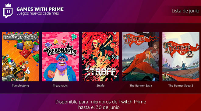 Lista de juegos de Twich Prime de Junio en WZ Gamers Lab - La revista digital online de videojuegos free to play y Hardware PC