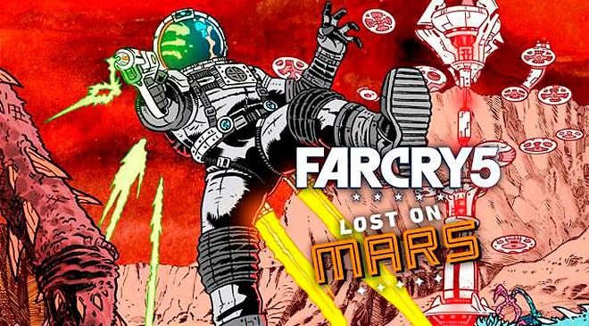 De vacaciones en Marte con Far Cry 5 Lost on Mars en WZ Gamers Lab - La revista digital online de videojuegos free to play y Hardware PC