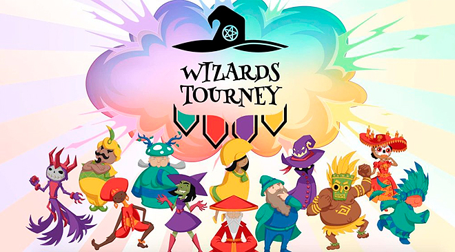El nuevo Party Game se llama Wizards Tourney en WZ Gamers Lab - La revista de videojuegos, free to play y hardware PC digital online