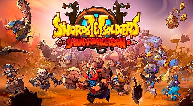 Swords and Soldiers 2 Shawarmageddon ya disponible en WZ Gamers Lab - La revista de videojuegos, free to play y hardware PC digital online