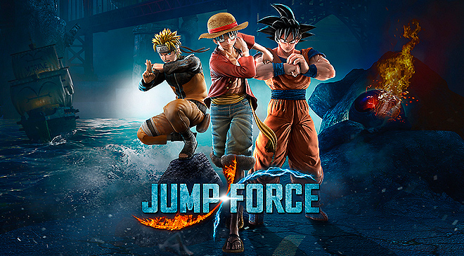 JUMP FORCE llegará el 15 de febrero de 2019 en WZ Gamers Lab - La revista de videojuegos, free to play y hardware PC digital online