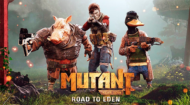 Mutant Year Zero: Road to Eden disponible el 4 ya disponible en WZ Gamers Lab - La revista de videojuegos, free to play y hardware PC digital online