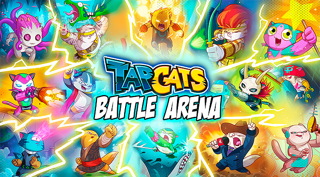 Un nuevo juego de cartas con Tap Cats: Battle Arena en WZ Gamers Lab - La revista de videojuegos, free to play y hardware PC digital online