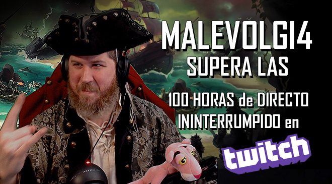 Malevolgi4 supera las 100 horas de Stream en directo en Twitch y te lo contamos en WZ Gamers Lab - La revista de videojuegos, free to play y hardware PC digital online