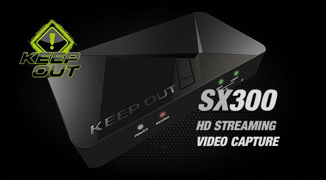Capturadora de vídeo portable X300 de Keep Out en WZ Gamers Lab - La revista de videojuegos, free to play y hardware PC digital online