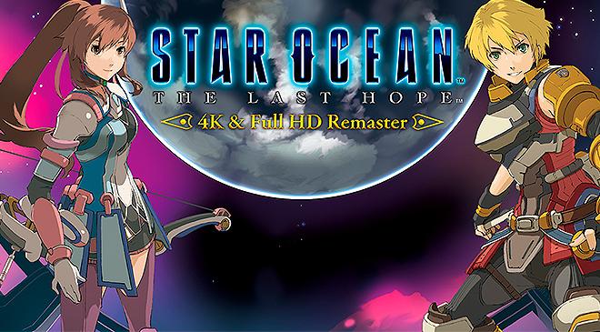 Star Ocean: The Last Hope llega en 4K