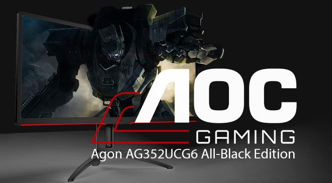 AOC AgonAG352UCG6 All-Black Edition en WZ Gamers Lab - La revista de videojuegos, free to play y hardware PC digital online
