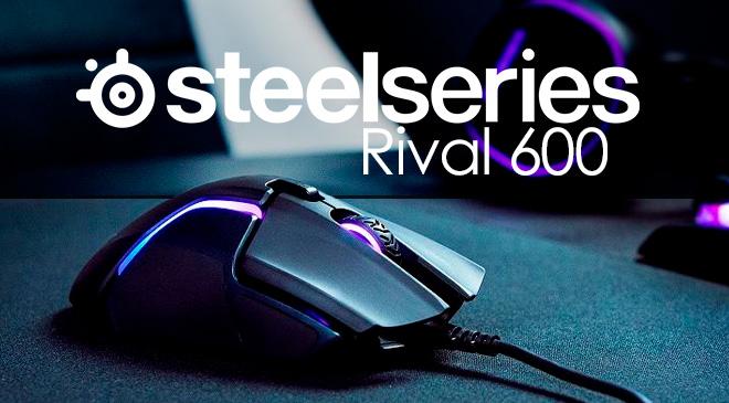 Rival 600: el ratón gamer de ensueño