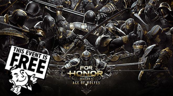 For Honor gratuito del 3 al 6 de mayo en WZ Gamers Lab - La revista digital online de videojuegos free to play y Hardware PC