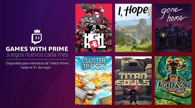 Twitch da juegos con Prime en WZ Gamers Lab - La revista digital online de videojuegos free to play y Hardware PC