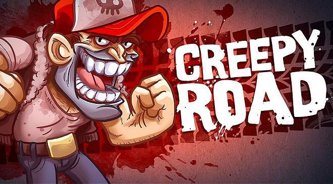 El mundo loco de Flint Trakera en Creepy Road
