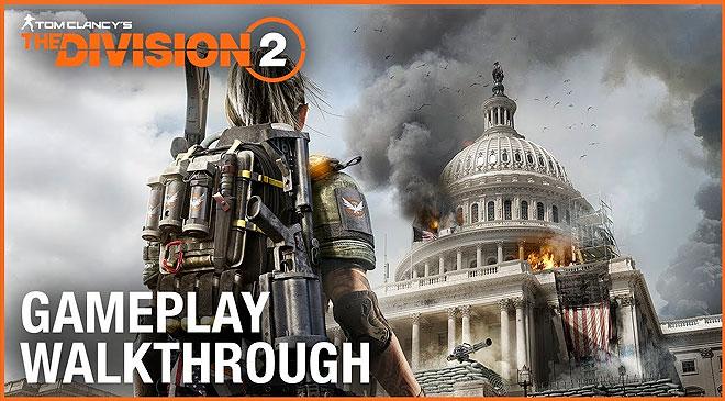 Primer Gameplay Walkthrough de The Division 2 en WZ Gamers Lab - La revista digital online de videojuegos free to play y Hardware PC