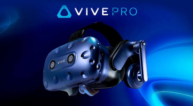 HTC VIVE PRO en WZ Gamers Lab - La revista digital online de videojuegos free to play y Hardware PC