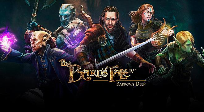 The Bard's Tale IV: Barrows Deep ya disponible en WZ Gamers Lab - La revista de videojuegos, free to play y hardware PC digital online