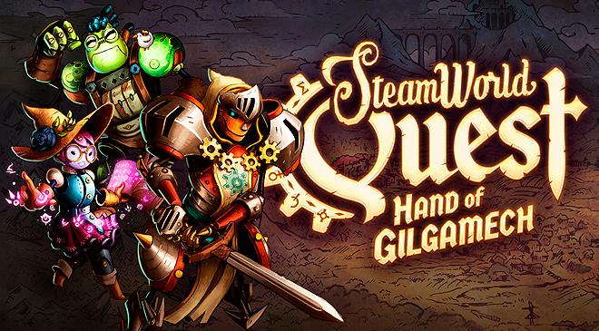 Rol y cartas en SteamWorld Quest: Hand of Gilgamech en WZ Gamers Lab - La revista de videojuegos, free to play y hardware PC digital online