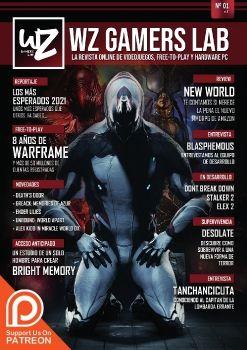 WZ Gamers Lab revista digital online de videojuegos, free to play y hardware PC, número 1
