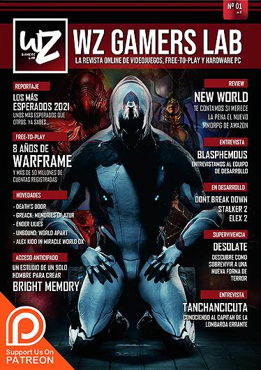 Revista número 1 de WZ Gamers Lab - La revista de videojuegos, free to play y hardware PC digital online